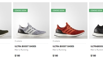 "ADIDAS ULTRA BOOST 3.0 ""COLLEGIATE BURGUNDY : Sneaker"
