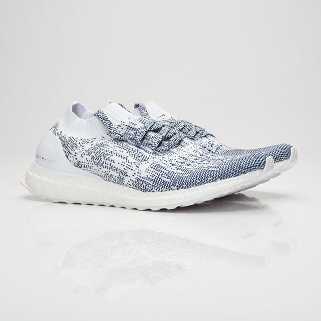 innovative design 40d19 c9136 Sneaker Release Alert – Adidas Ultra Boost Uncaged (WhiteNavy) –  mensfashionneeds