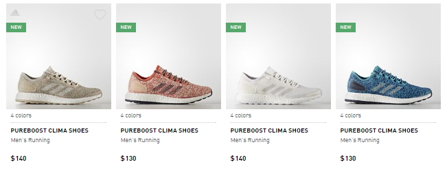 Sneaker Release Alert – Adidas Pure Boost 2017 (Multi-Colorways ... b4350b46930e