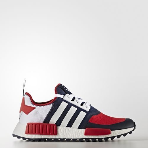 Sneaker Release Alert – Adidas x White Mountaineering NMD Trail Women (White Navy Red)  – mensfashionneeds a93bcf6a8c
