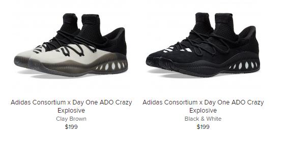 Sneaker Release Alert – Adidas Consortium x Day One Ado Crazy Explosive –  mensfashionneeds a160d76f356b