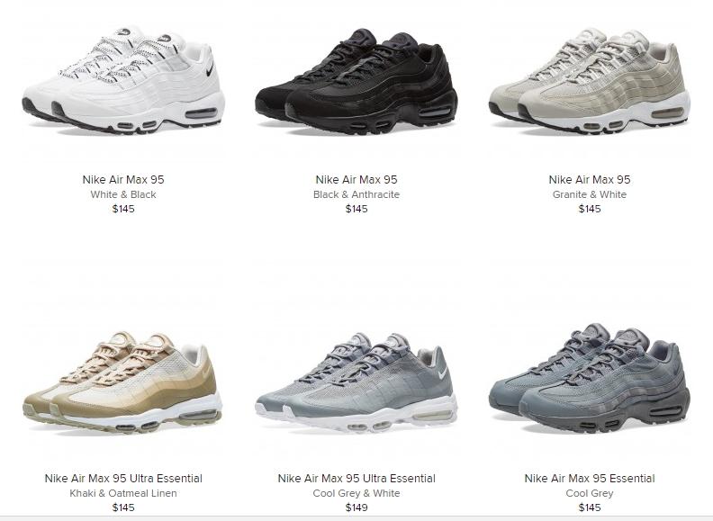 reputable site c392c 33f76 Sneaker Release Alert – Nike Air Max 95 (Multiple Colorways) –  mensfashionneeds