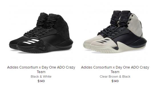 hot sale online aef7f 23368 Sneaker Release Alert – Adidas Consortium x Day One Ado Crazy Team –  mensfashionneeds