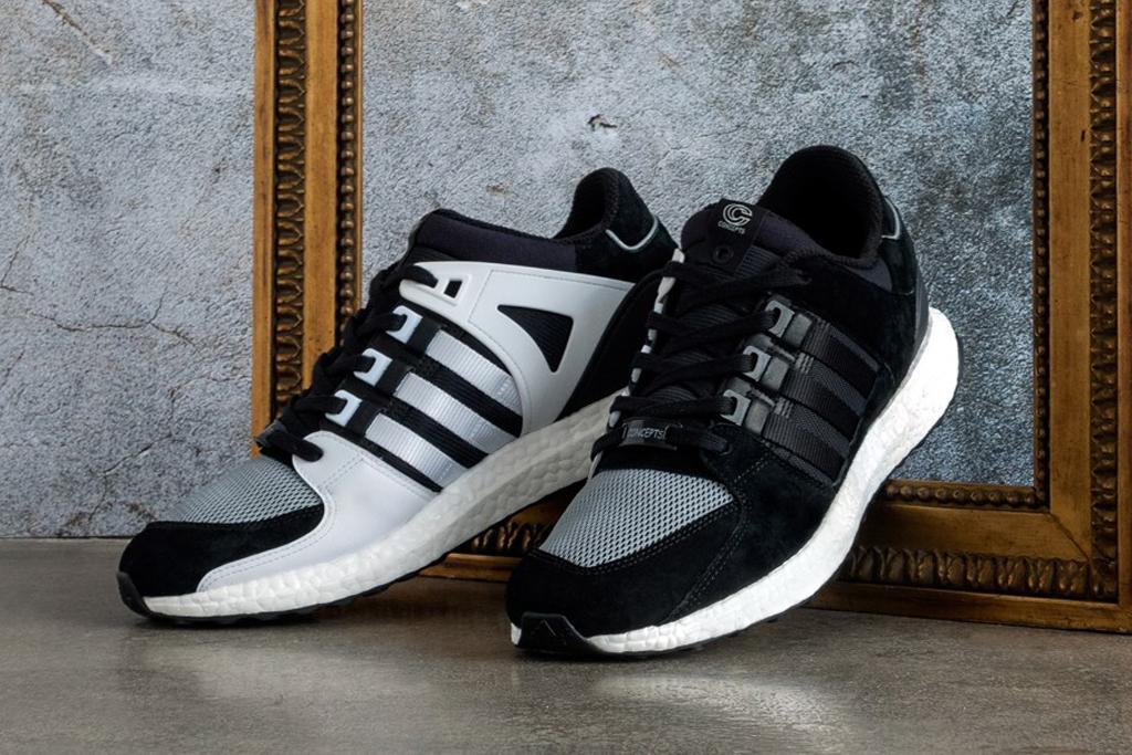 brand new b7ee2 b7544 Sneaker Sale Alert – Concepts x Adidas EQT Support 9316 Boost (Black) –  mensfashionneeds