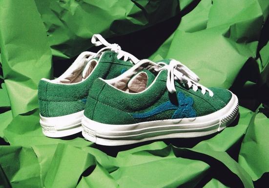 "4811e3f07248 Sneaker Release Alert – Tyler the Creator x Converse One Star ""Golf ..."