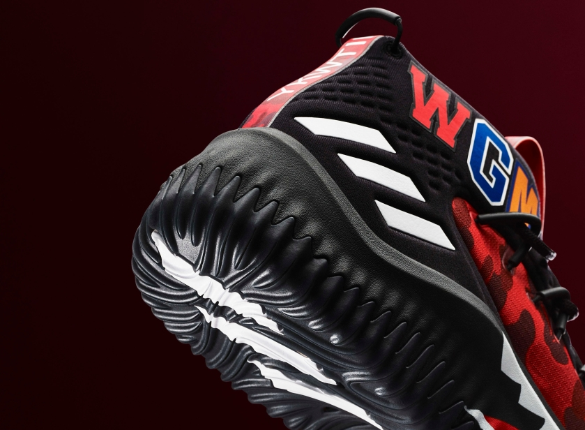 31f18fd8923fb1 Bape x Adidas Dame 4 Is Set To Release Soon In A Red Colorway ...