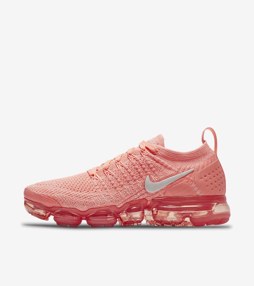 Sneaker Release Alert - Nike Air VaporMax 2 Womens (Crimson Pulse)