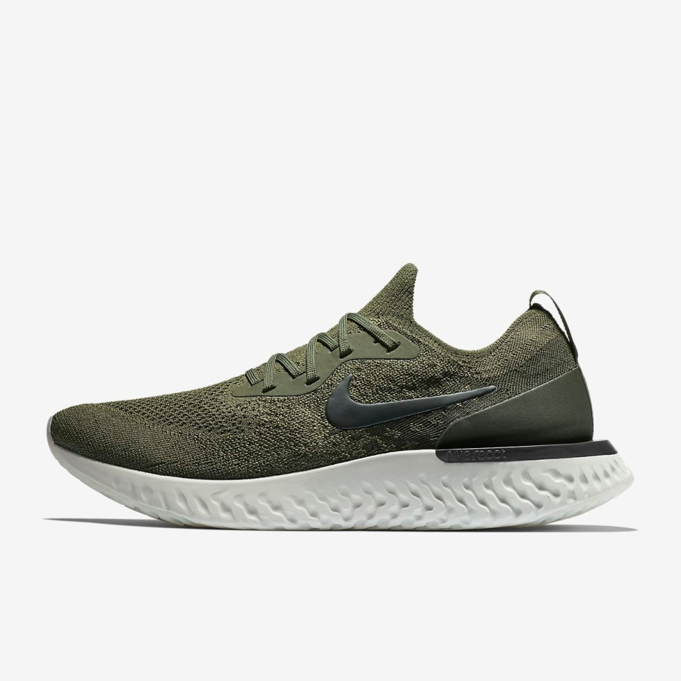 """9a225a8d8bc81 Sneaker Release Alert – Nike Epic React Flyknit """"Olive"""""""