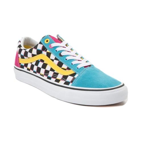 "Sneaker Release Alert – Vans Old Skool Chex ""Multi Color ... e2f18c2bb691"