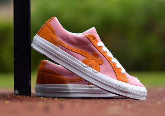 """01634661a9c Tyler The Creator x Converse One Star Golf Le Fleur """"Two Tone Pack""""  (Pink Orange)"""