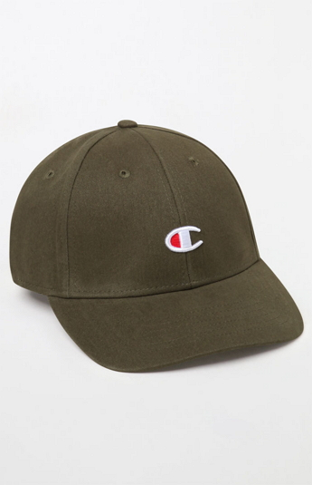 7170112b3a Apparel Deal Alert – Champion Classic Twill C Strapback Dad Hat (Olive)